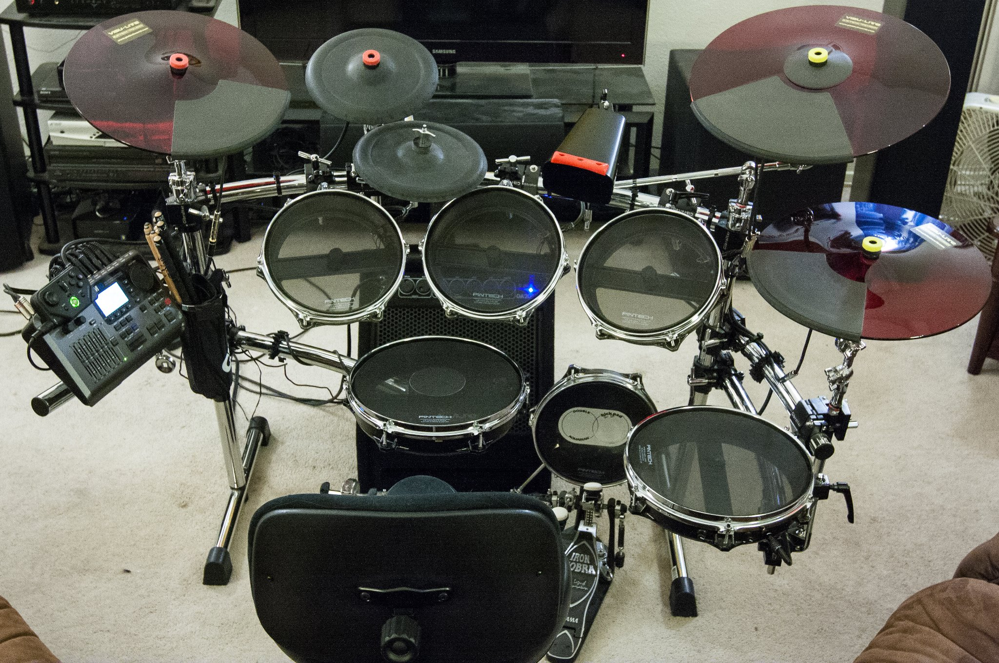 post your drum kit harmonix forums. Black Bedroom Furniture Sets. Home Design Ideas